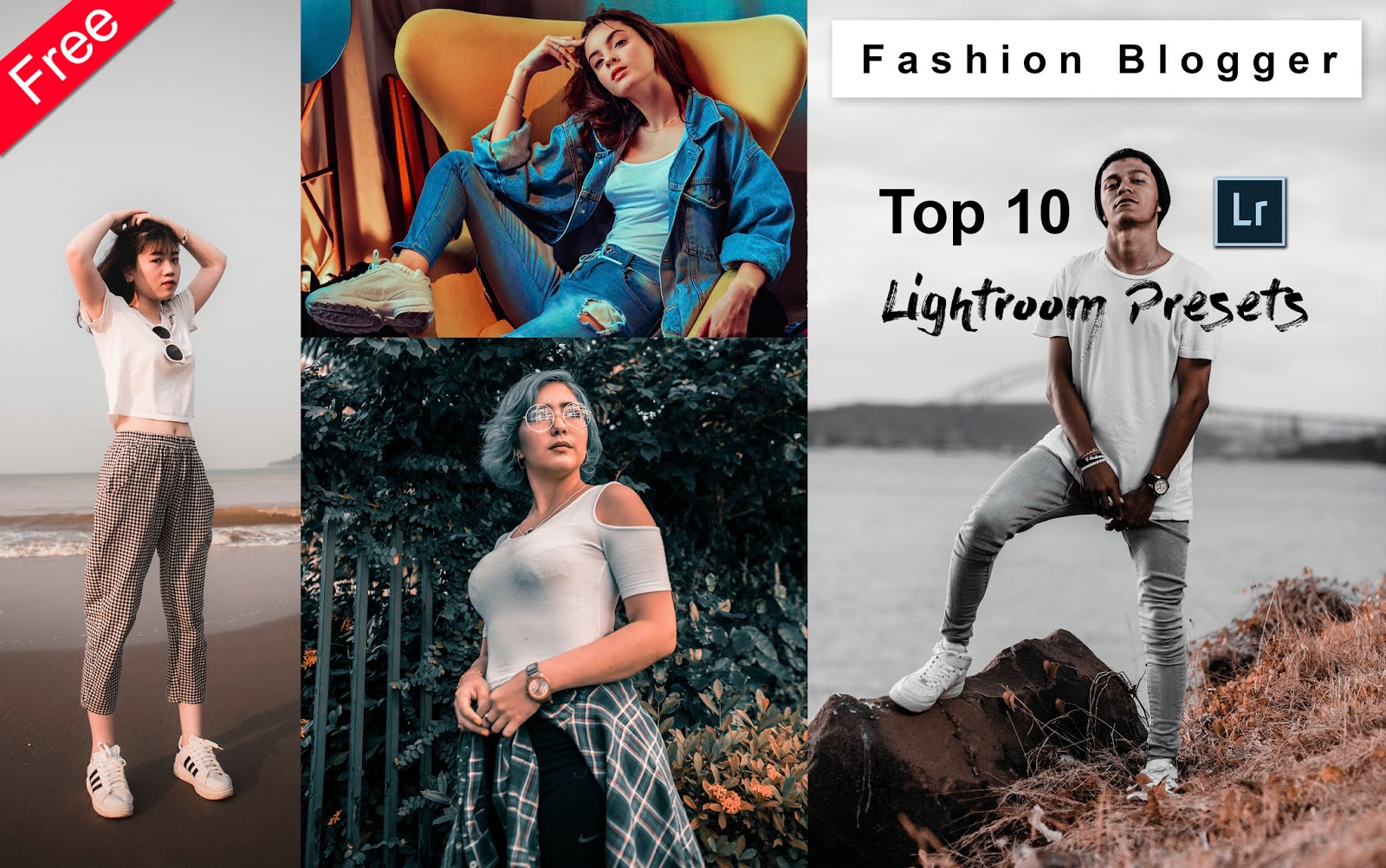 Download Top 10 Fashion Blogger Lightroom Presets for Free | How to Edit Fashion Photos in Lightroom