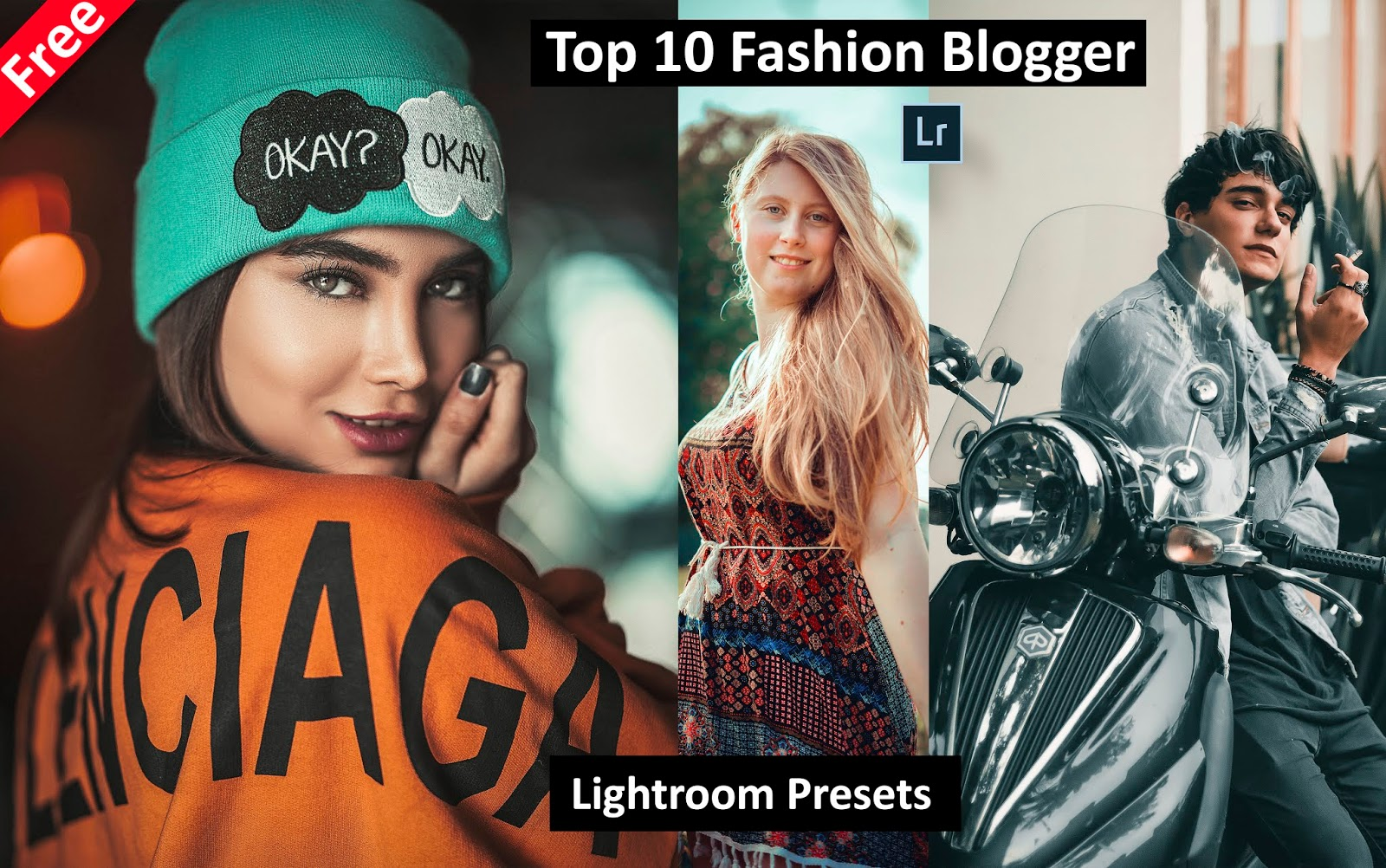 Download Top 10 Fashion Blogger Lightroom Presets for Free | How to Edit Fashion Portraits in Lightroom