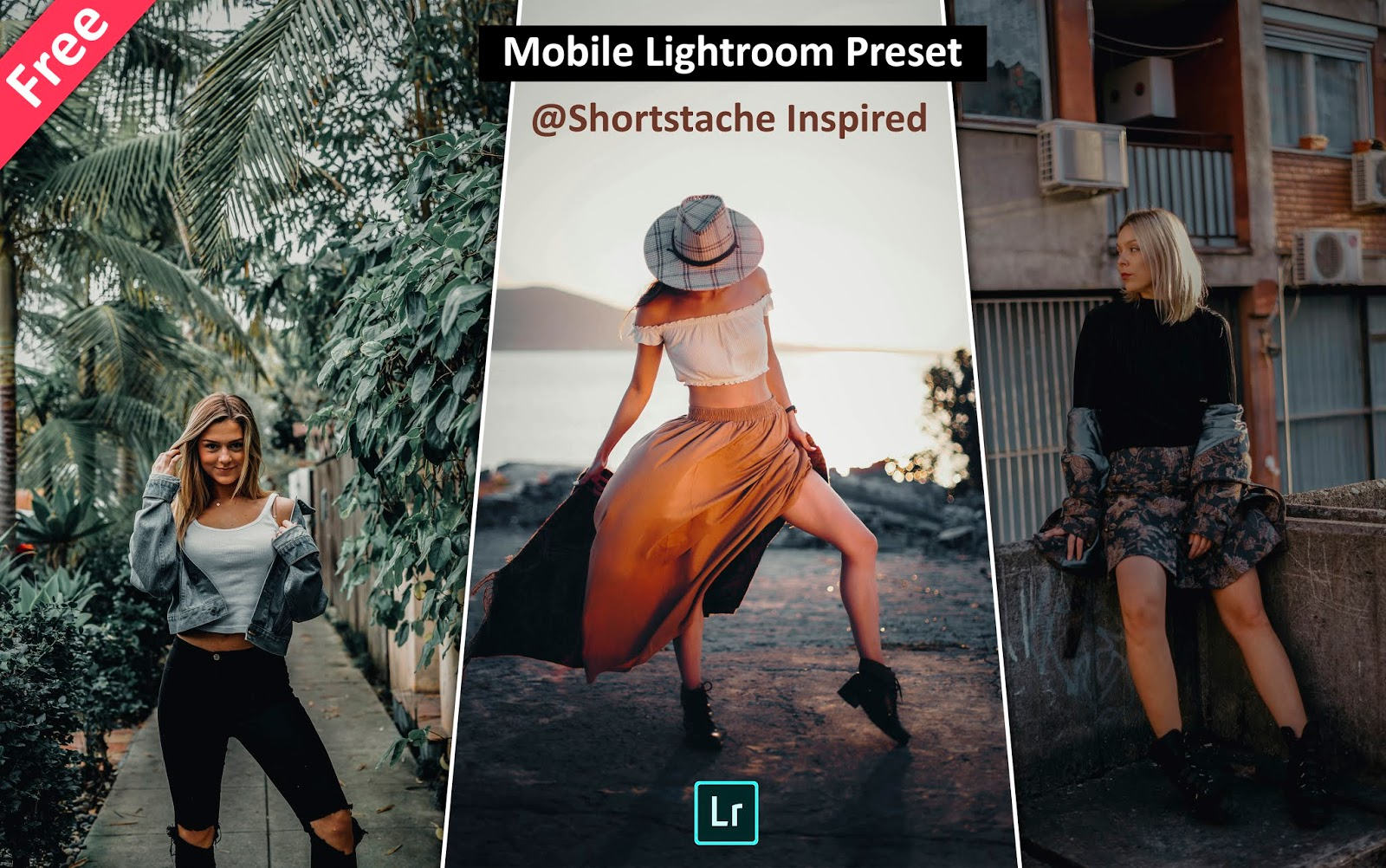 Download Shortstache Inspired Mobile Lightroom Presets for Free | How to Edit Photos Like @shortstache in Mobile Lightroom