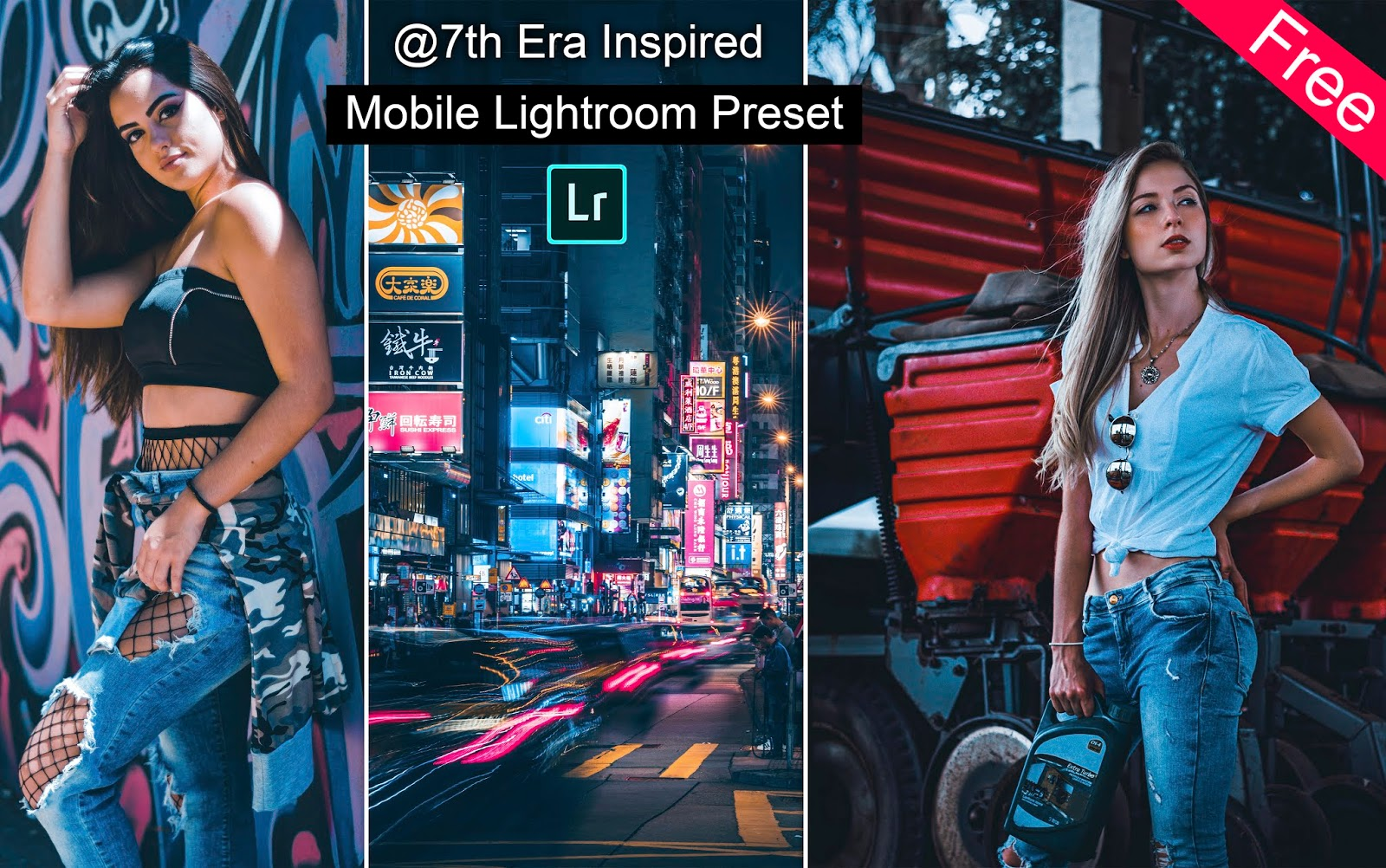 Download 7th Era Inspired Mobile Lightroom Preset for Free   How to Edit Photos Like 7th Era in Mobile Lightroom