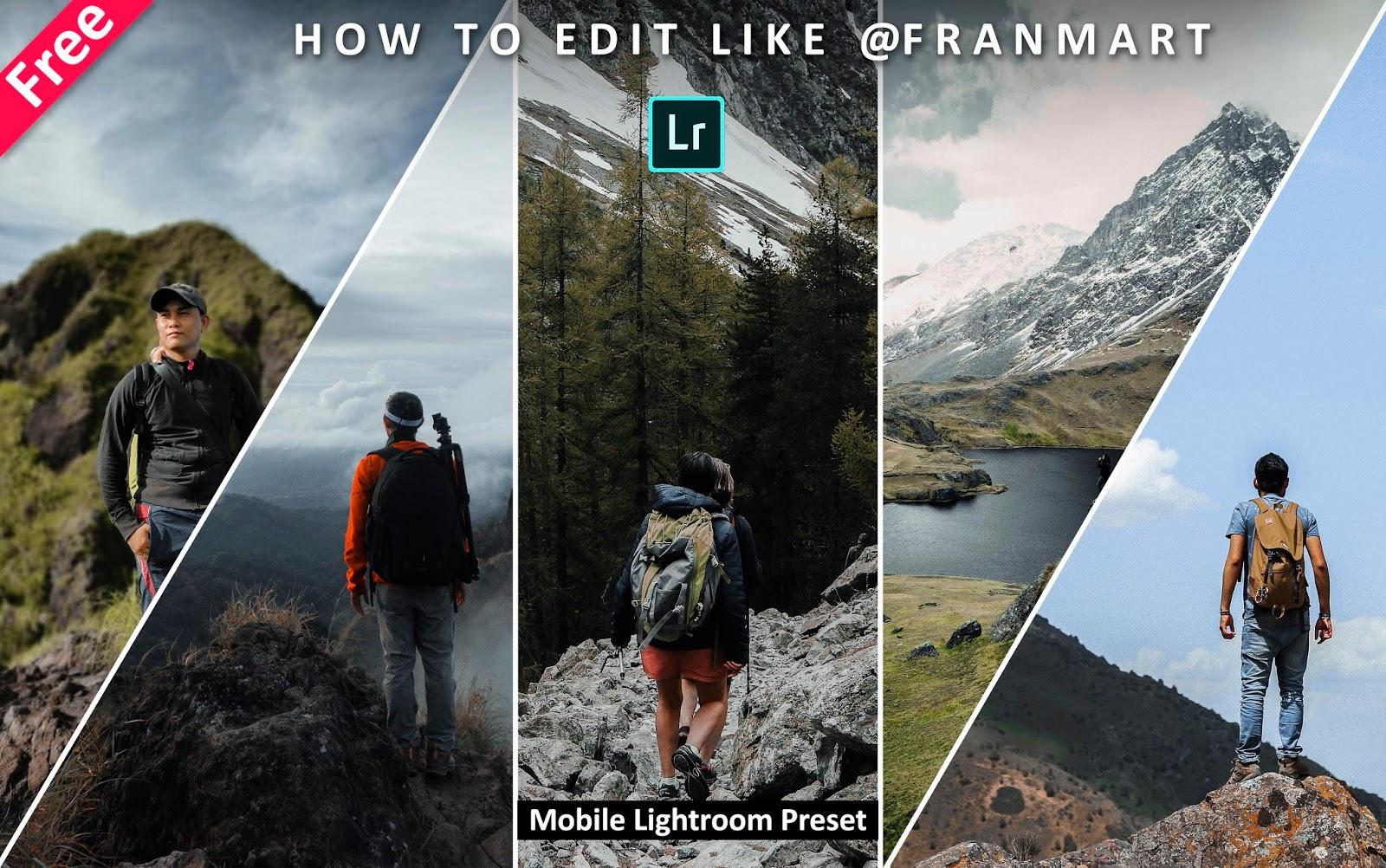Download Franmart Inspired Mobile Lightroom Preset for Free   How to Edit Photos Like Franmart in Mobile Lightroom App