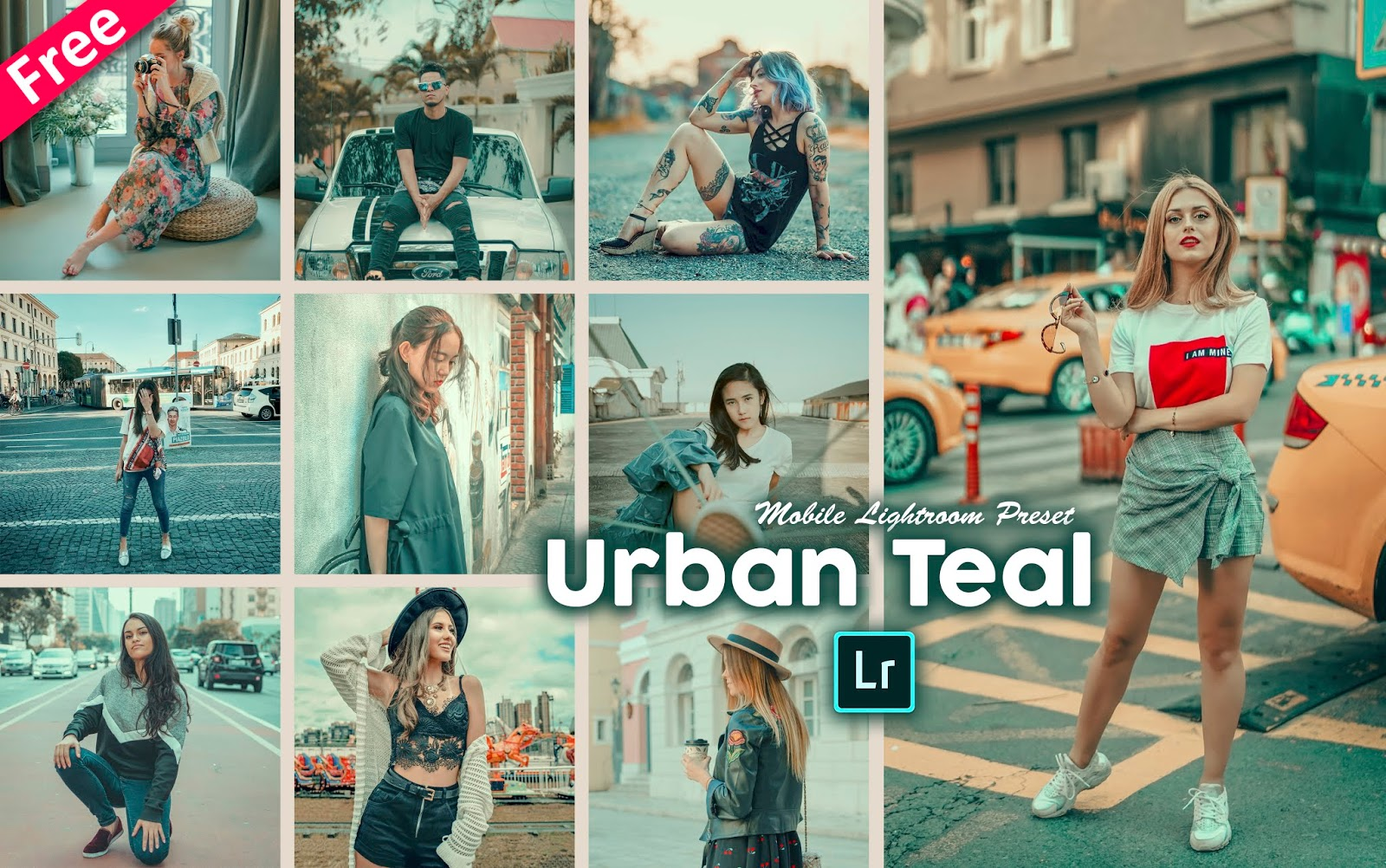 Urban Teal Tone Mobile Lightroom Presets dng for Free | How to Make Urban Teal Effect to Photos in Mobile Lightroom