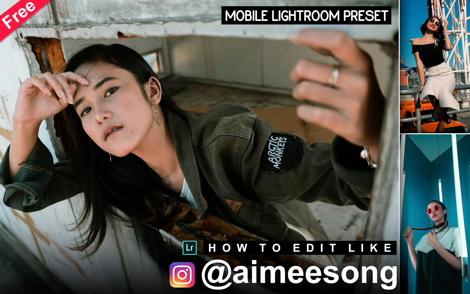 Download Aimeesong Inspired Mobile Lightroom Preset for Free   How to Edit Your Photos Like @aimeesong in Mobile Lightroom App