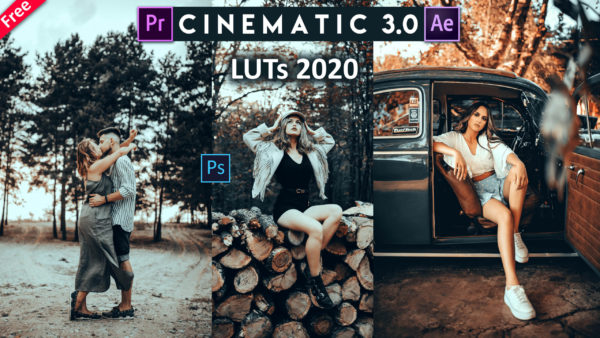 Download Free Cinematic 3.0 LUTs of 2020 for Premiere Pro, Adobe After Effects & Photoshop   How to Colorgrade Videos in Premiere Pro with Cinematic Effect in 2020