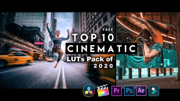 Download Top 10 CINEMATIC LUTs Pack of 2020 for Free   Top 10 Cinematic LUTs for Premiere Pro, Final Cut Pro, After Effects, Photoshop,  Da Vinci Resolve, Wondershare Filmora & Many More