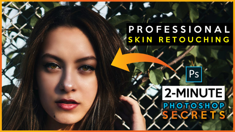 2 Minute Photoshop   Refined Skin Textures With Skin Retouching (Quick & Easy) SKIN SMOOTHENING   2020 Trick