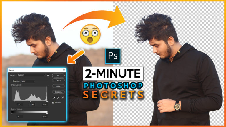 2 Minute Photoshop   Select Hairs & Subject with this New Trick (Quick & Easy) How to Select Hairs in Photoshop cc 2020   How to Cutout Photo from Background in Photoshop cc 2020 Easily in 2 Minute