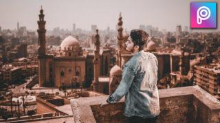 2-Minutes PicsArt Hindi Tutorial | Toni Mahfud Style HD Realistic Photo Manipulation in PicsArt